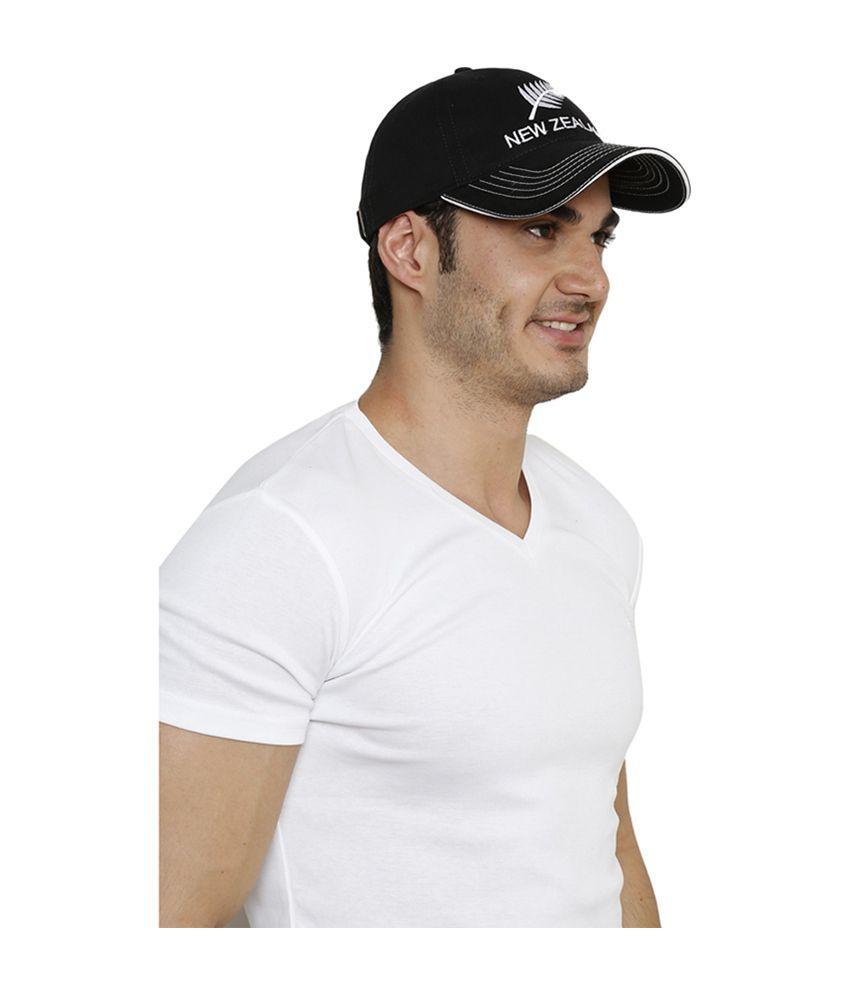 f486a978411 Sportigo Black Plain Cotton Caps Sportigo Black Plain Cotton Caps ...