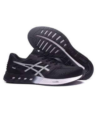 Permanentemente demasiado Moviente  Asics Gel FuzeX Black Running Shoes - Buy Asics Gel FuzeX Black Running  Shoes Online at Best Prices in India on Snapdeal