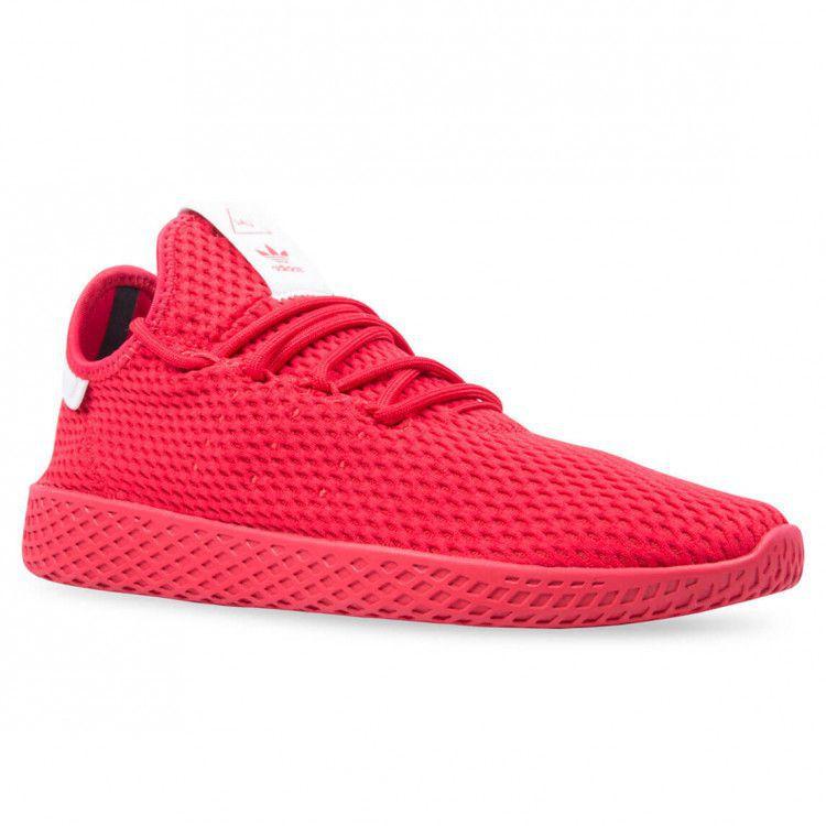 best website 0a37d d8f27 ... Adidas PHARRELL WILLIAMS TENNIS HU Red Running Shoes ...