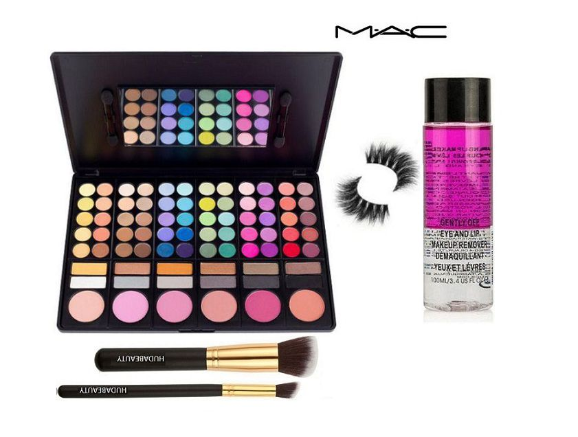 Mac Professional Make up 78 Colors Palette Eyes Makeup ...