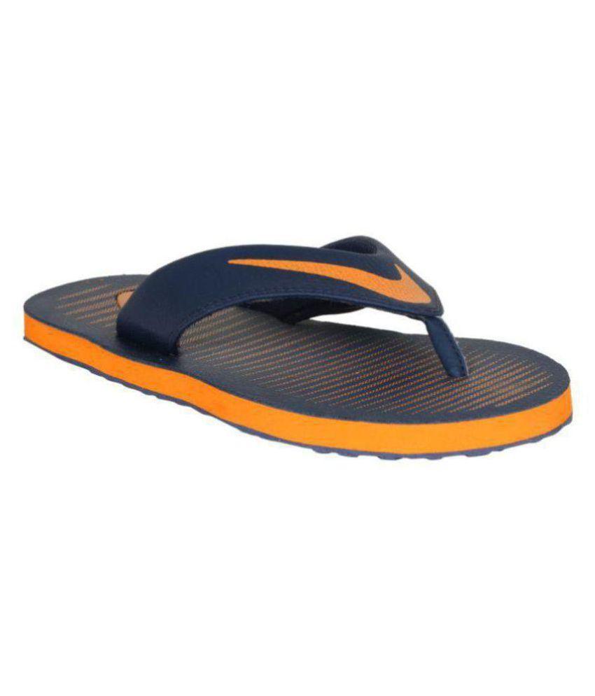 Nike Orange Thong Flip Flop Price in