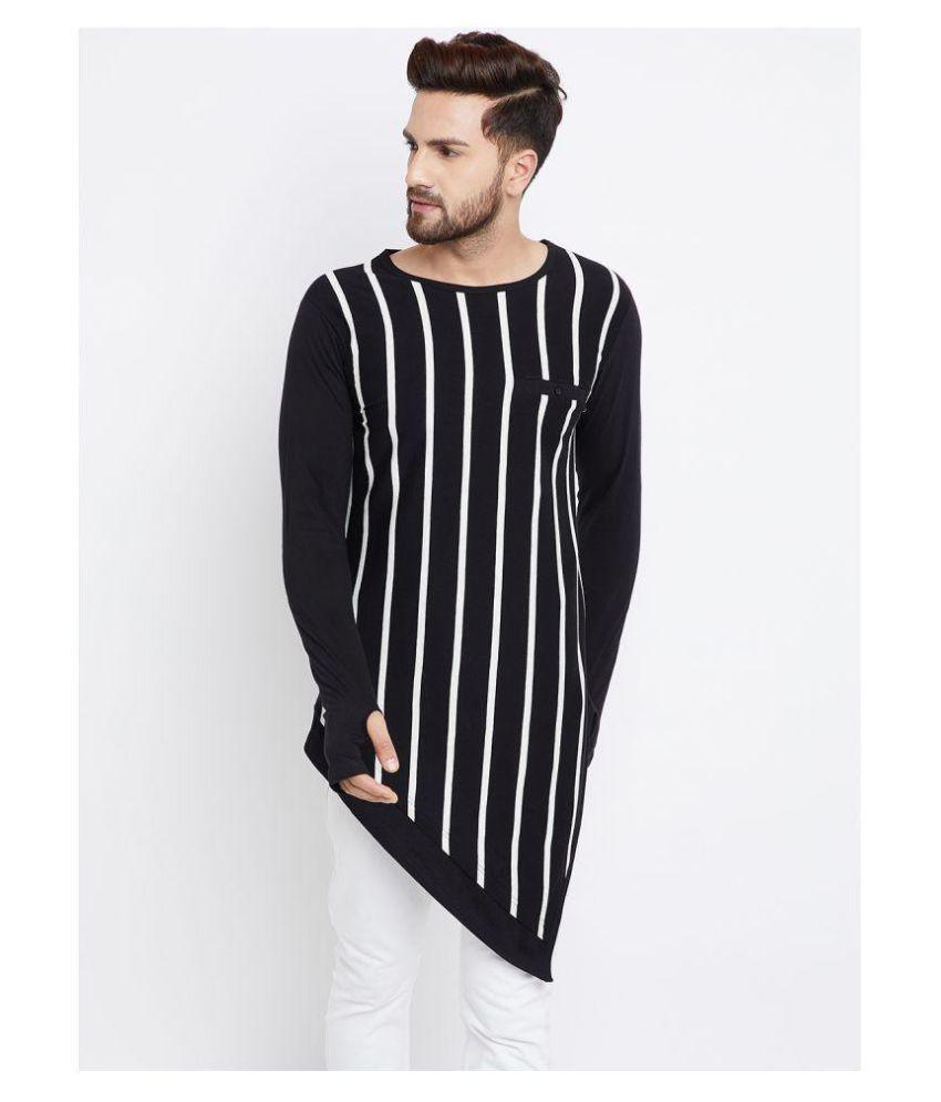 Hypernation Black Full Sleeve T-Shirt