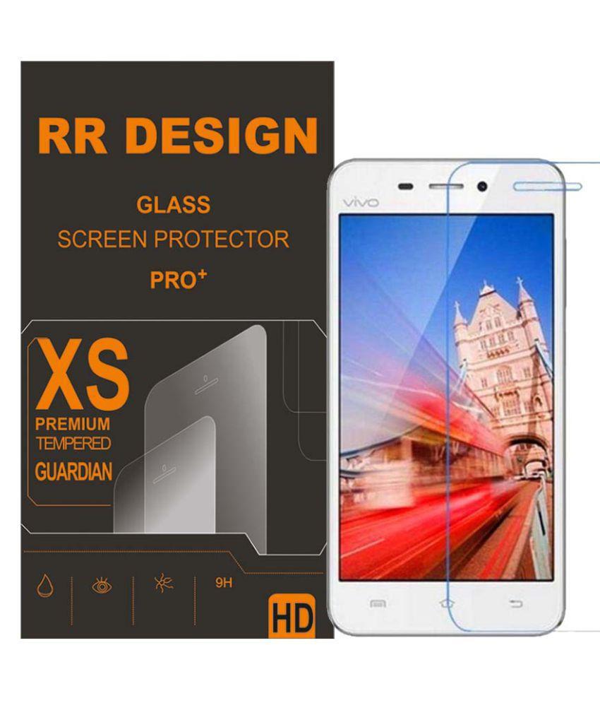 Vivo V1 Max Tempered Glass Screen Guard By RR design