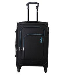 SKYBAGS Black S (Below 60cm) Check-in Soft FOOTLOOSE (E) LEVIN 4W EXP STROLLY 58 Luggage