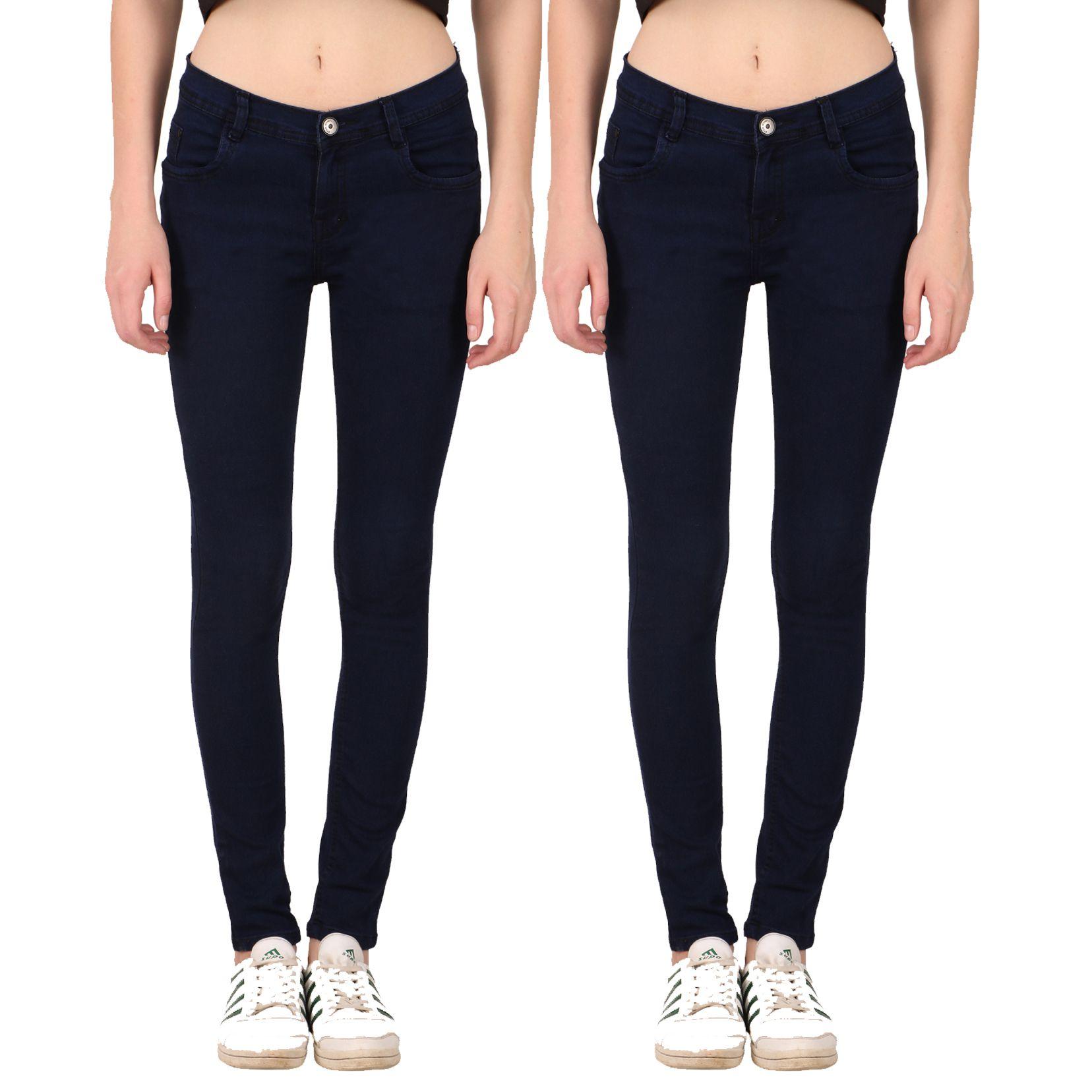 KA Fashion Denim Jeans - Multi Color