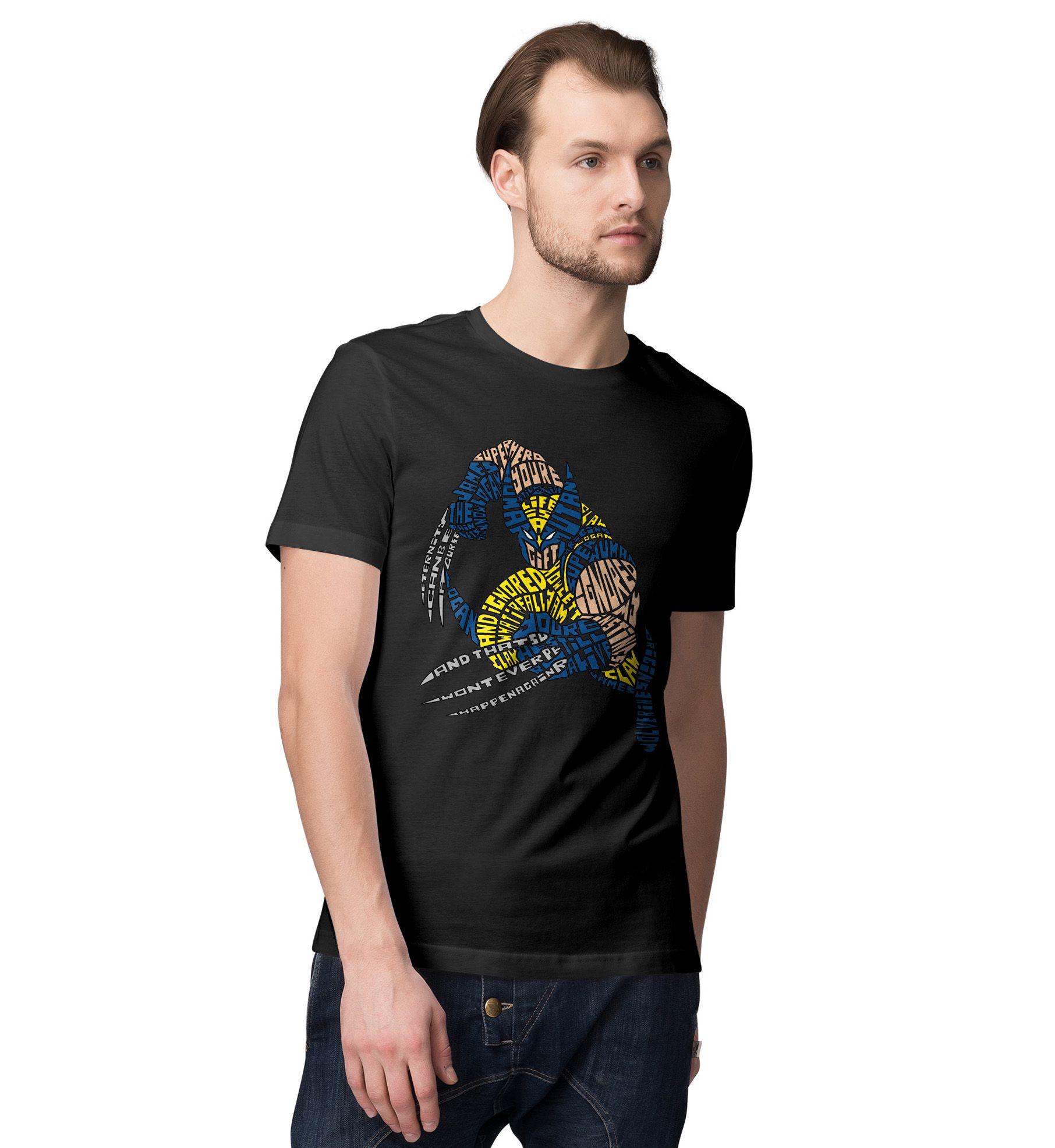 Desi Bonkers Black Round T-Shirt