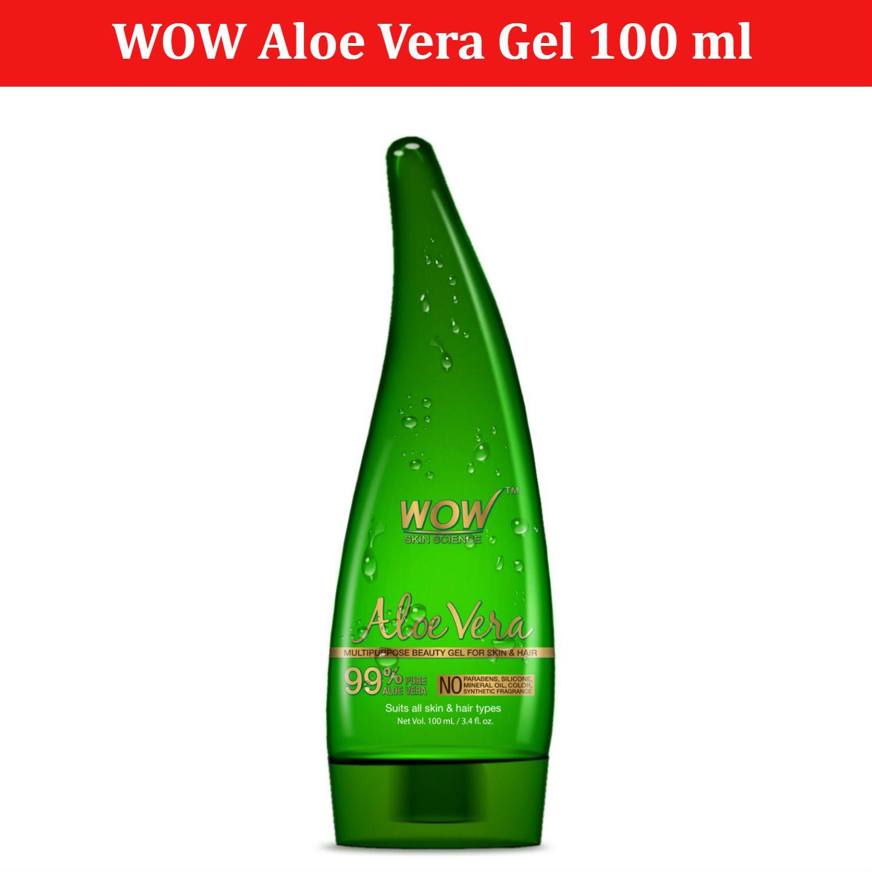 WOW Skin Science Aloe Vera Gel 100 ml