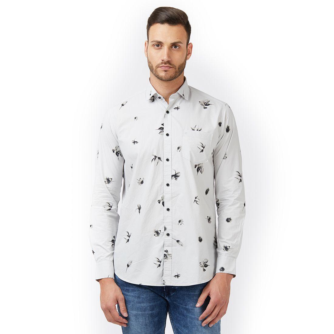 EASIES by KILLER Grey Slim Fit Shirt