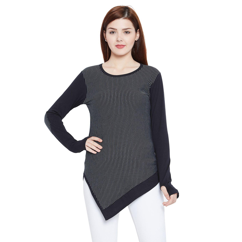 Hypernation Cotton Black T-Shirts
