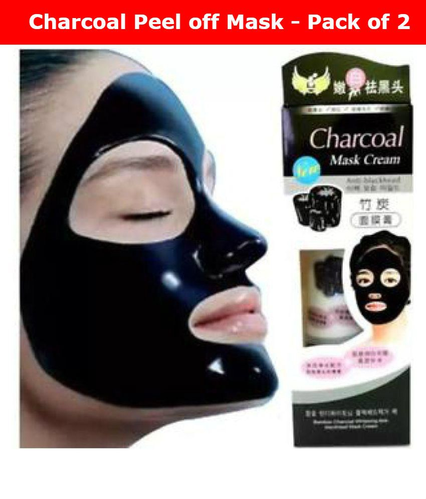 charcoal face mask anti blackhead 260g pack of 2 130g each buy rh snapdeal com