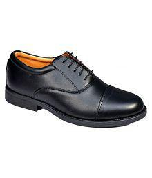 Bata Oxfords Genuine Leather Black Formal Shoes