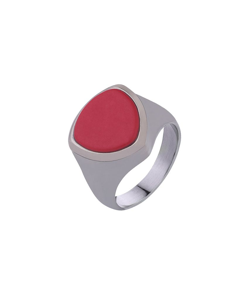 Dare Milestone Black Rhodium Finish Statement Ring for men