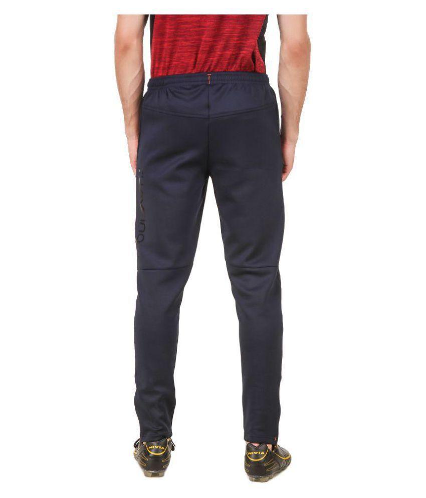 Nivia Black Polyester Trackpants-2249S2
