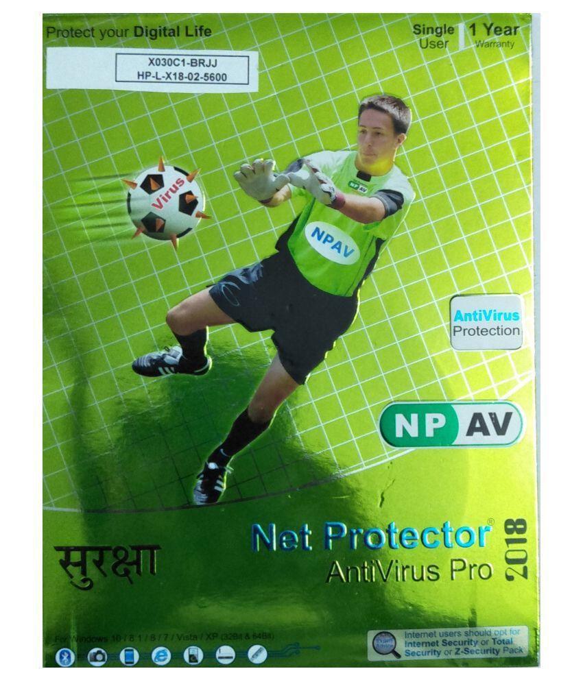 Net Protector Antivirus 2018 ( 1 PC / 1 Year ) - CD