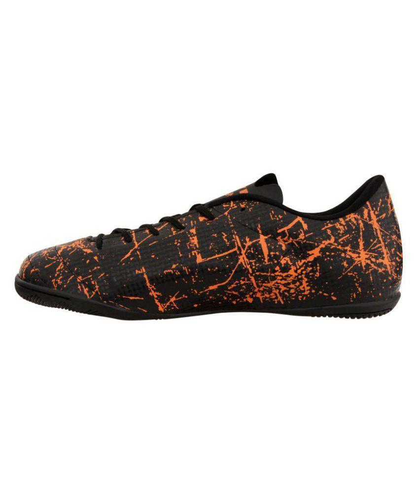 51d400e5207 Nivia ENCOUNTER2.0 Flat Male Black Football Shoes  Futsal Shoe  Buy ...