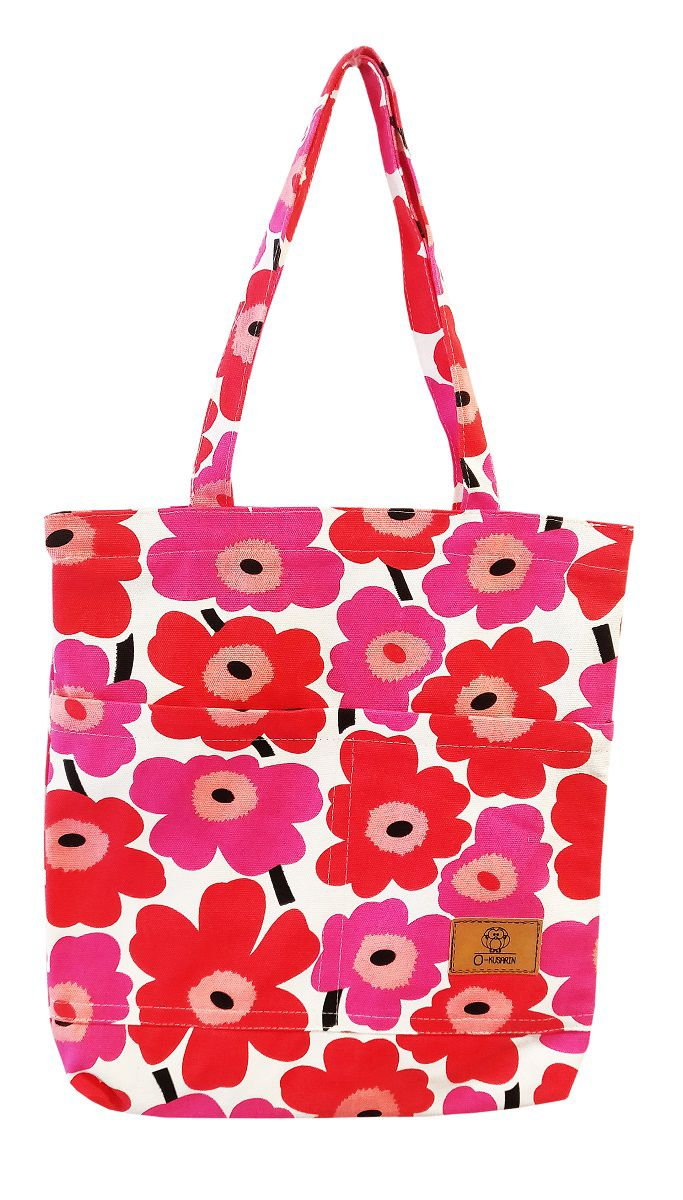 Unbranded Pink Canvas Tote Bag