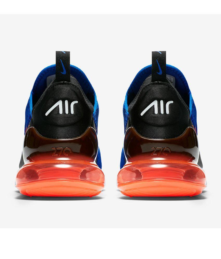 9e5f7342fd3b Nike Air Max 270 Blue Running Shoes - Buy Nike Air Max 270 Blue ...