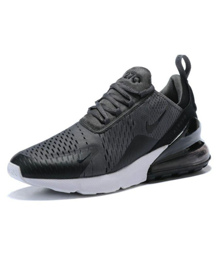 low priced cfe38 8af06 Nike Air Max 270. Grey Running Shoes