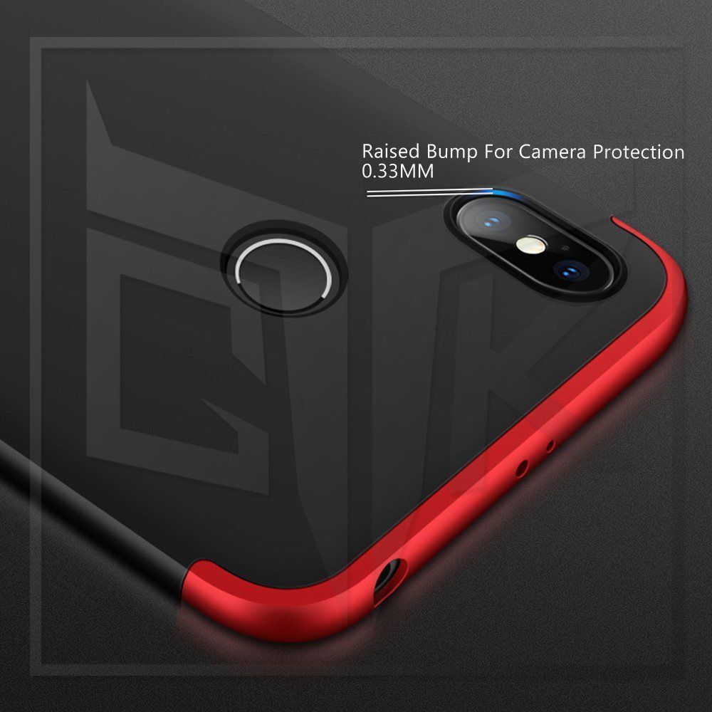 premium selection 9fadf 1f979 Xiaomi Redmi Y2 Flip Cover by Shanice - Red GKK 360 iPacky Cover
