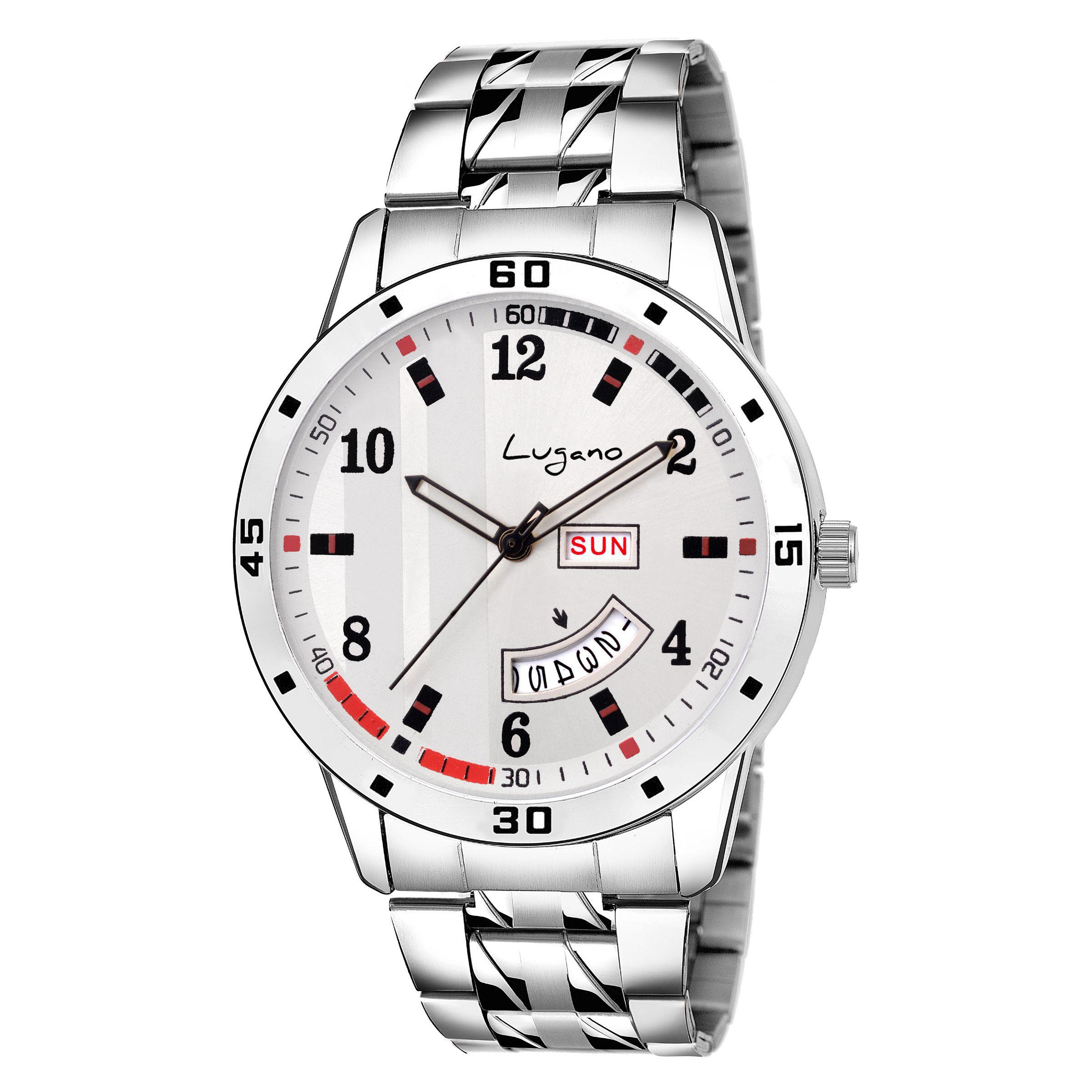 Lugano LG 1167 Stainless Steel Analog Men's Watch