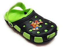 Pampys Angel Cute Fox Kids Clogs