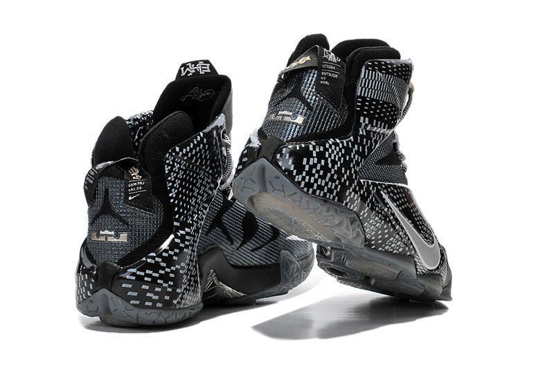 Nike Lebron 12 BHM Black Training Shoes - Buy Nike Lebron 12 BHM ... 8f66a0136