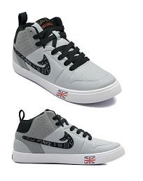 Treadfit Offbeat Latest Trend Sneakers Gray Casual Shoes