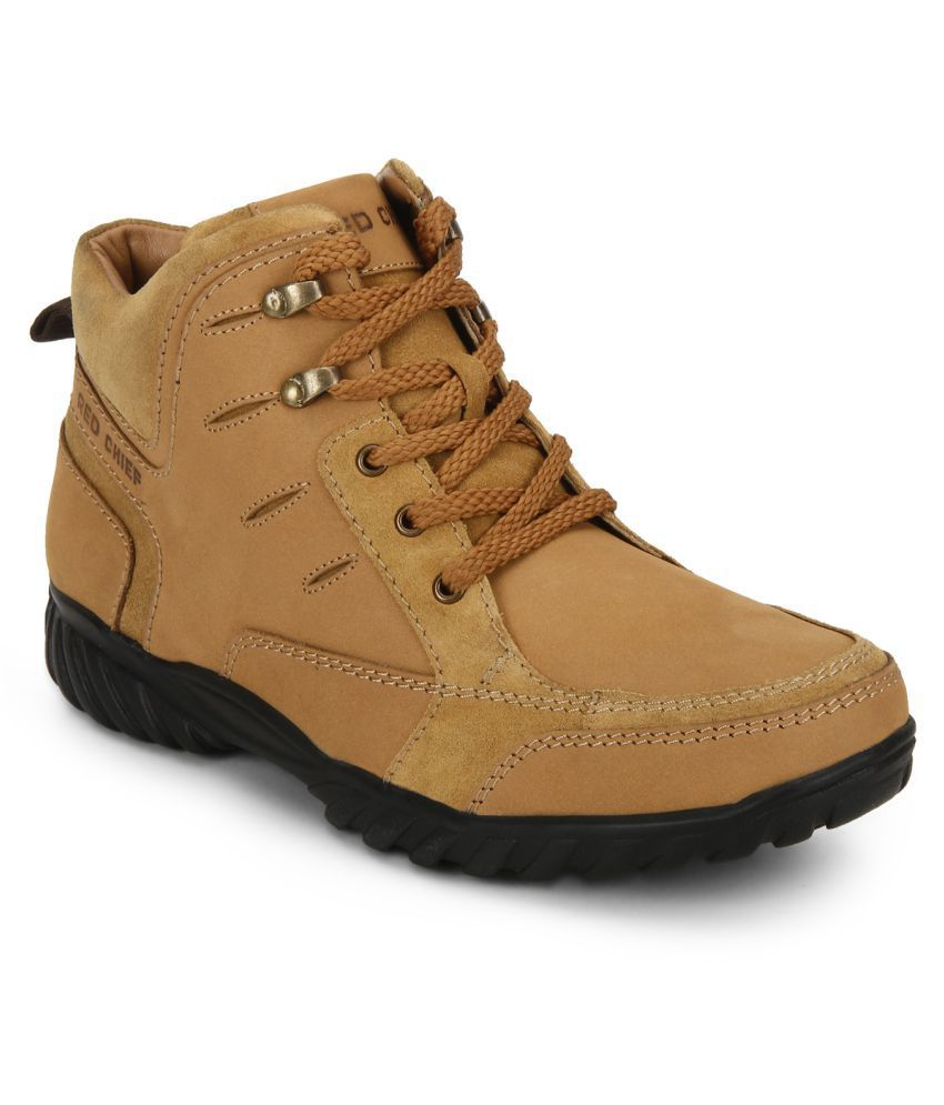 Red Chief RC3474 022 Outdoor Brown Casual Boots