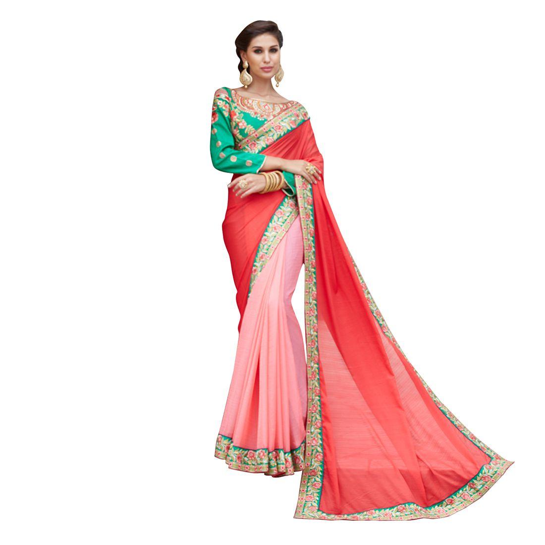 Wkart Multicoloured Silk Saree