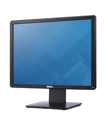 Dell E1715S (43.2cm) 17 inch Backlit HD LED Monitor with VGA & Display Port (TFT, Black)