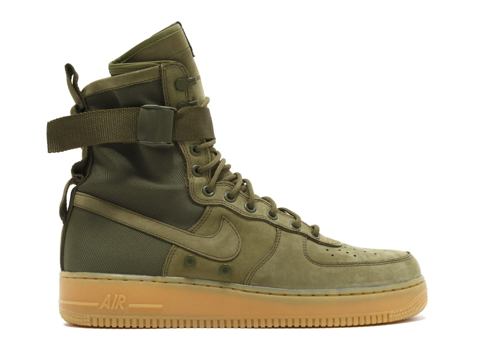 Nike Air Force Sf1 Green Running Shoes