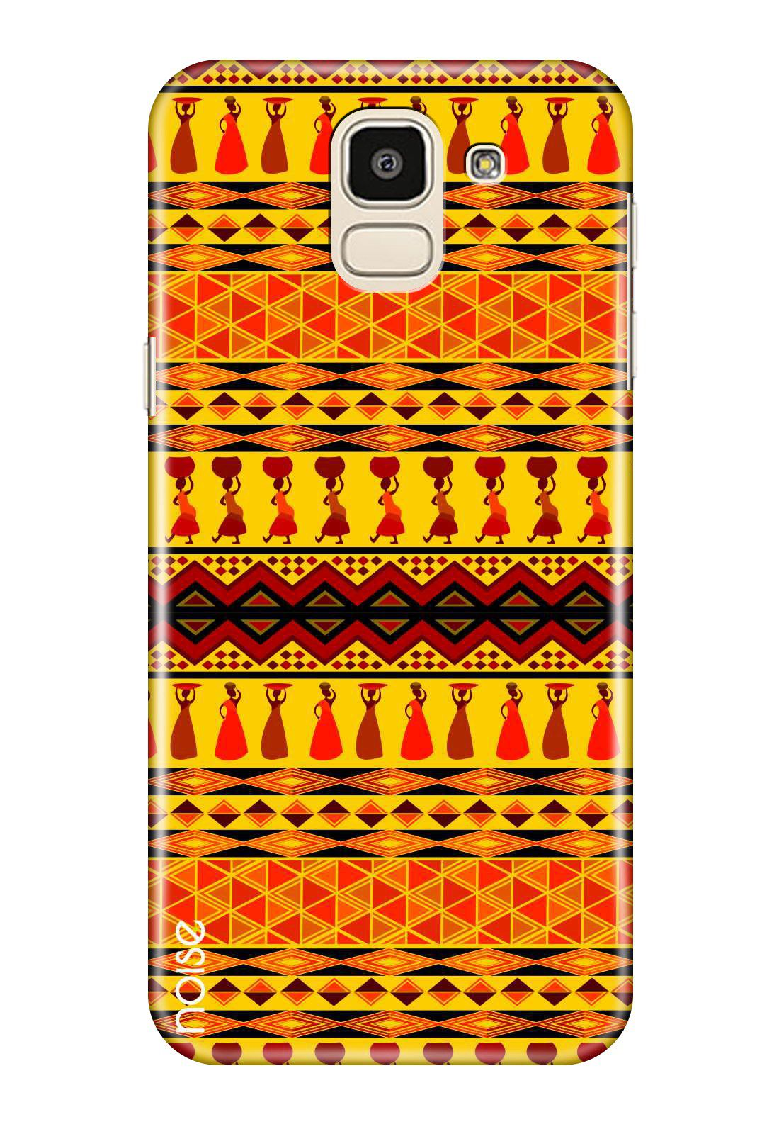 Samsung Galaxy J6 Printed Cover By Noise