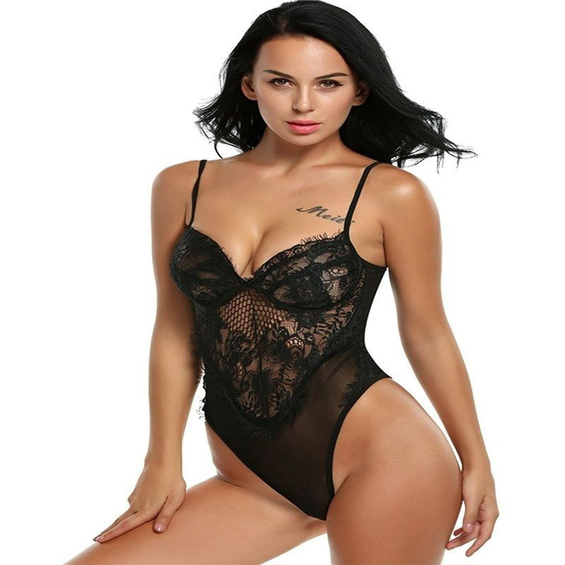 621433ba8fc Women Sexy/Sissy Lace Dress Lingerie Babydoll Underwear Nightwear ...