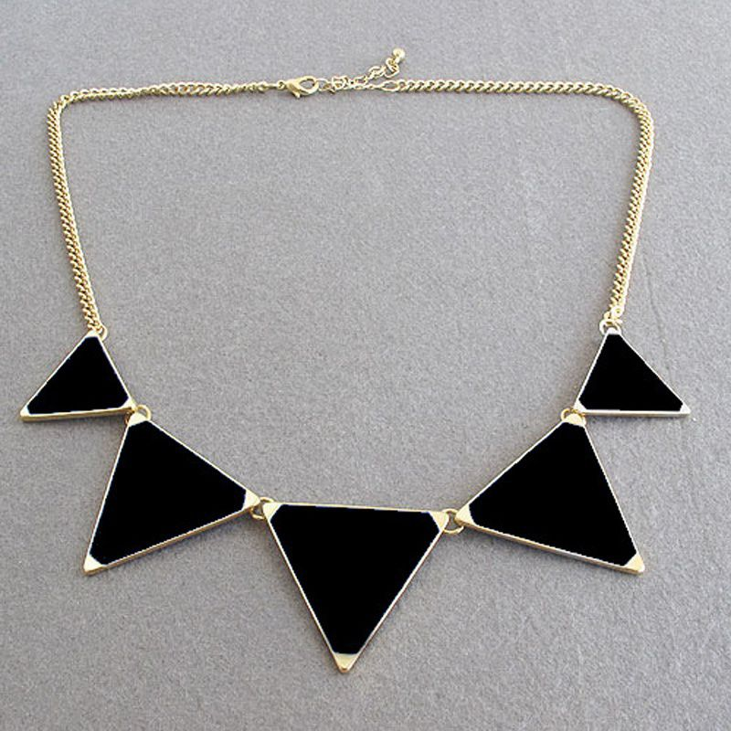 WAQIA 2018 Kolovrat Women Statement Maxi Necklace Chunky Necklaces & Pendants Triangles Necklaces Choker Collier Femme Fashion Jewelry
