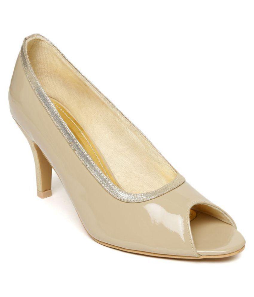 Rocia Beige Stiletto Heels