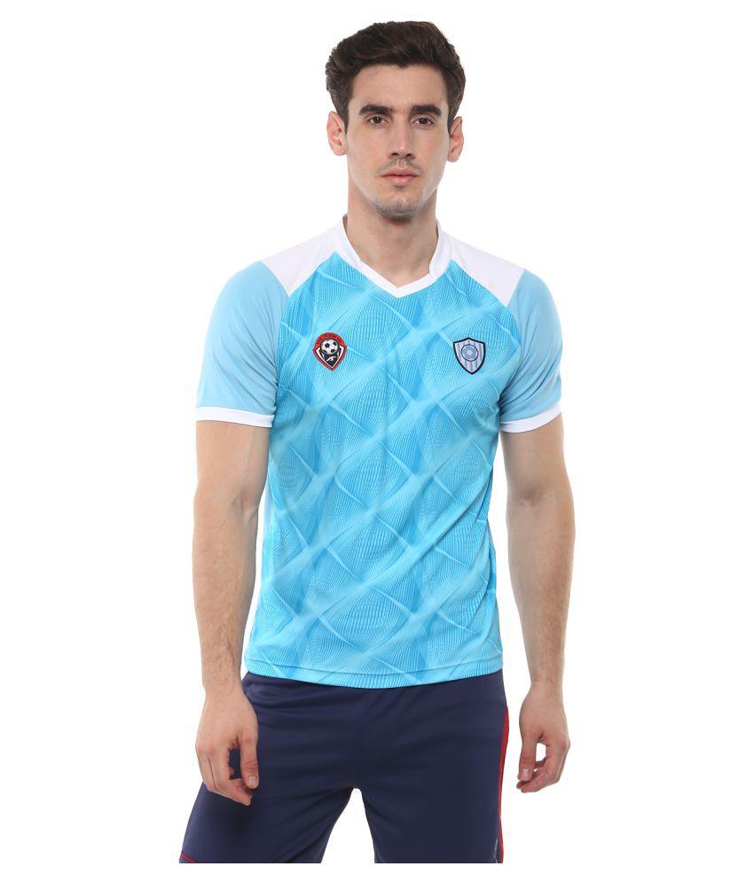 Alcis Argentina Blue Football Sports Jersey