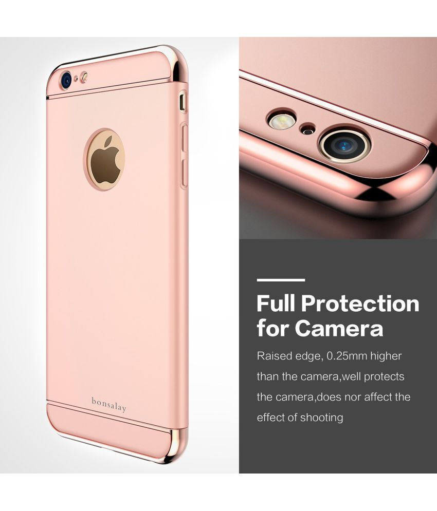 Apple iPhone 7 Cover by IPaky - Rose gold - Plain Back Covers