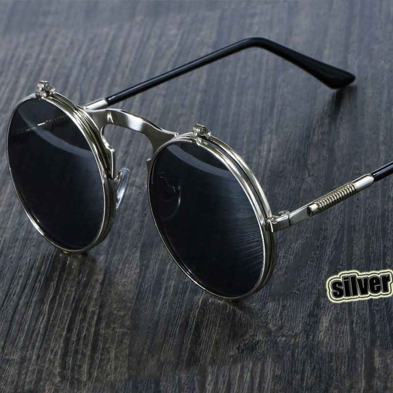 d104bed8c99 ZXG Multicolor Aviator Sunglasses ( Steampunk Sunglasses Round Metal Retro  Flip Circu ) - Buy ZXG Multicolor Aviator Sunglasses ( Steampunk Sunglasses  Round ...