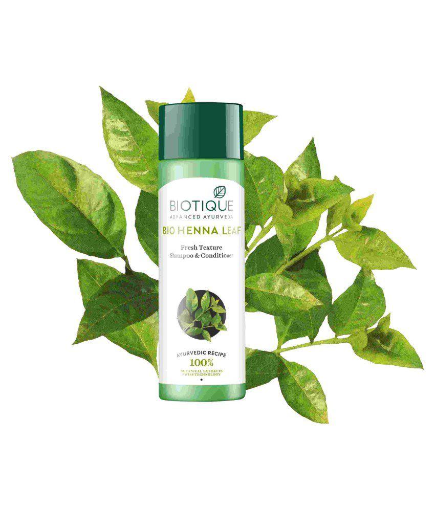 Biotique Bio Henna Leaf Fresh Texture Shampoo Conditioner 120 Ml