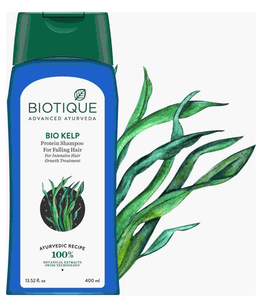 Biotique Bio Kelp Protein Shampoo for Falling Hair 400ml ...