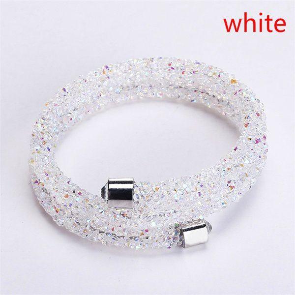 2e390d95ff0a7 Double Crystal Bracelets Collection Two Laps Wrap Bracelet Full Pave ...