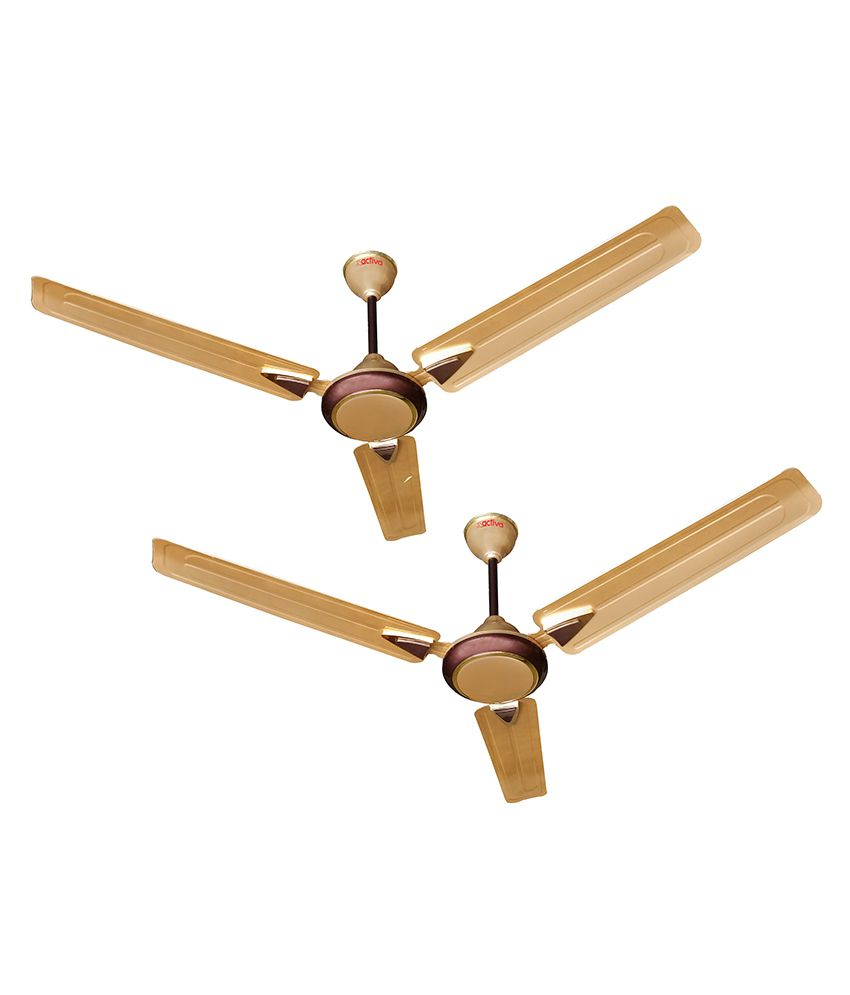 activa 1200 mm 5 star anti dust galaxy 1 ceiling fan pack of two rh snapdeal com