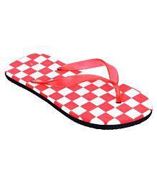 Altek Red Thong Flip Flop clearance best wholesale GoYdek