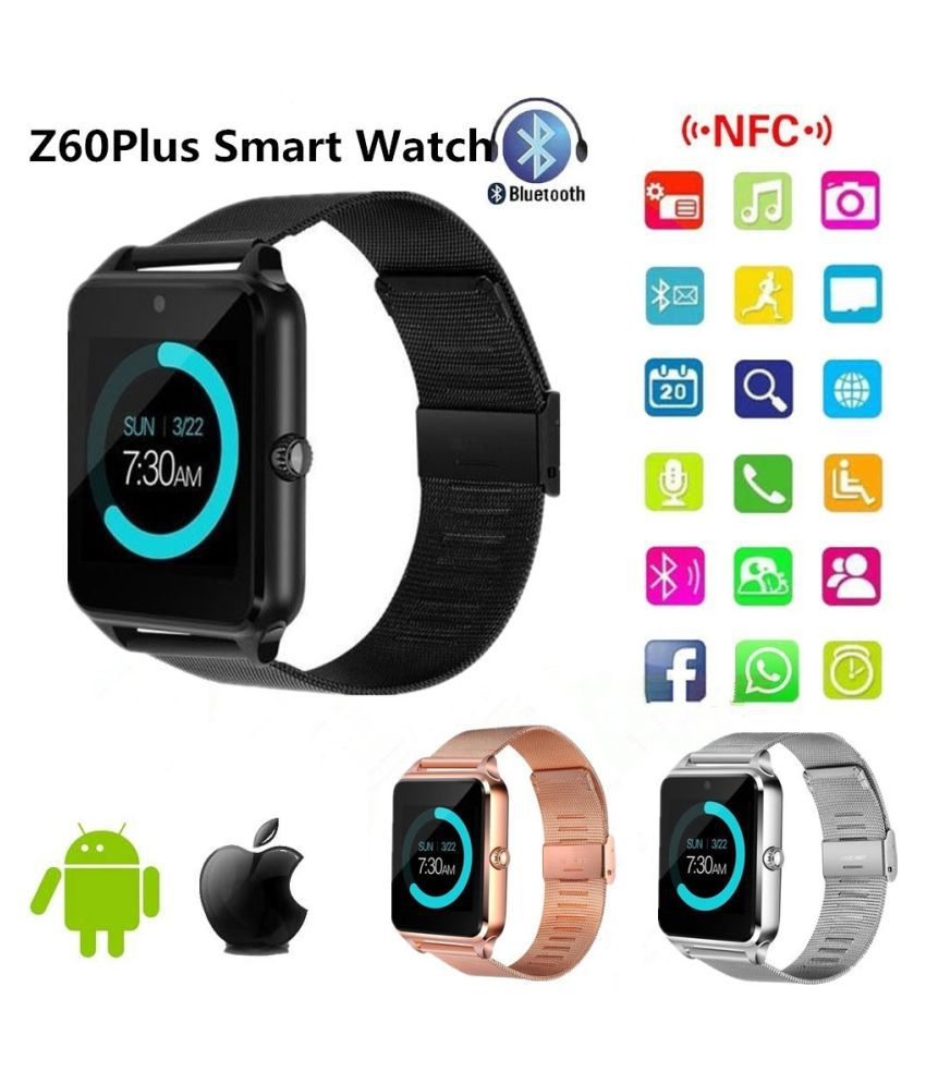 7a188046a1fa ZXG Latest Z60Sl Bluetooth Smart watch Phone Ped Wearable Smart Devices -  Wearable   Smartwatches Online at Low Prices
