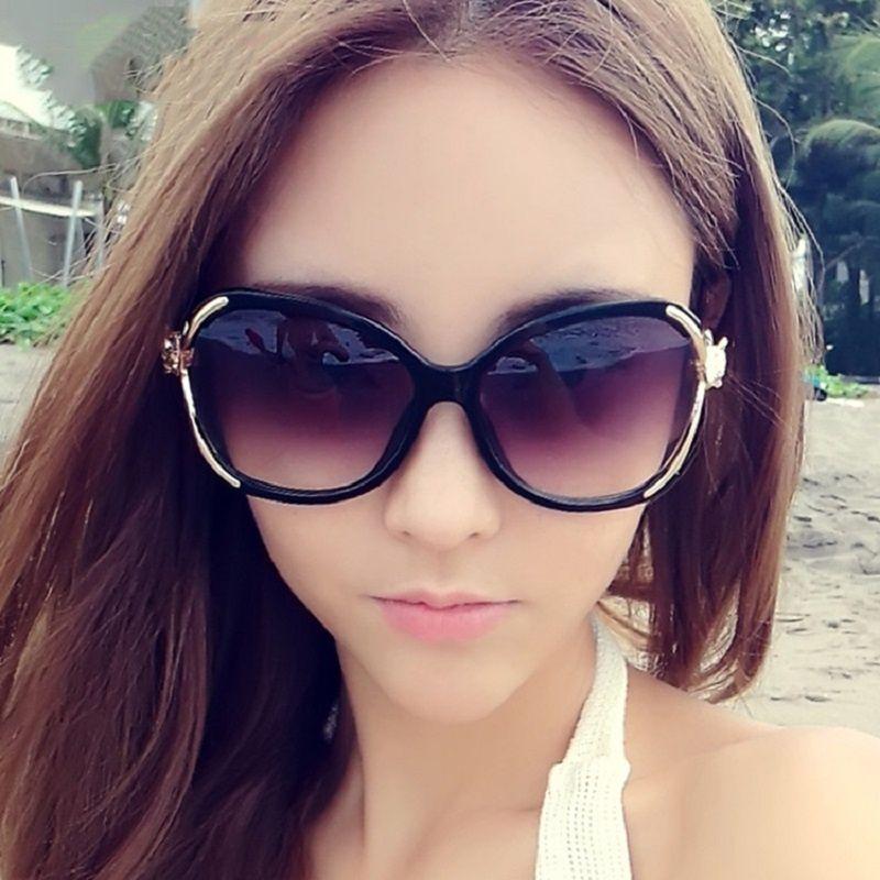 ZXG Red Aviator Sunglasses ( Women Fashion Black Big Frame Eyewear Outdoor Ant )