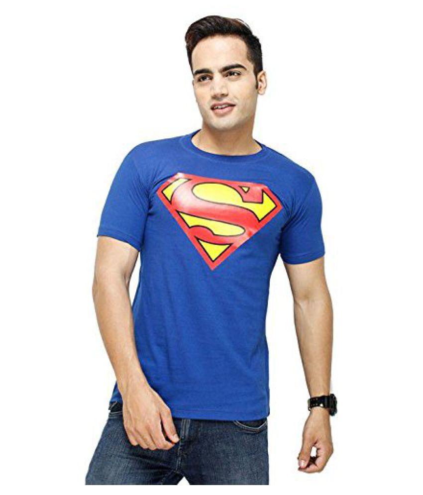 Buynbye Blue Round T-Shirt