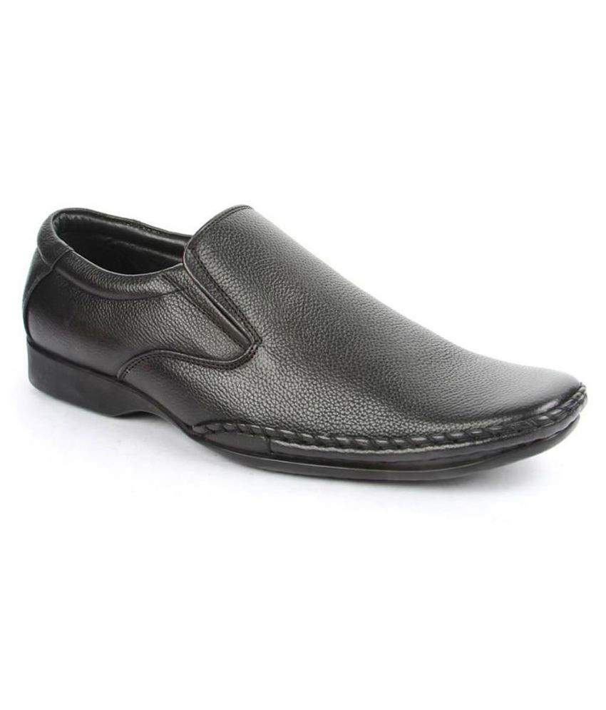Fortune By Liberty Black Formal Shoes