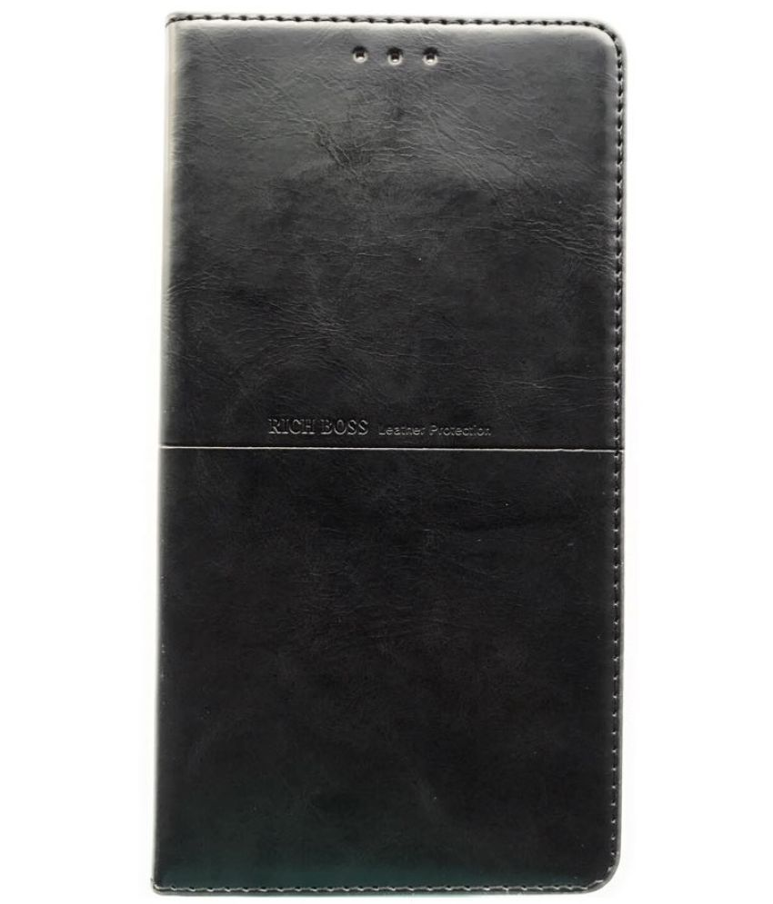 Honor 9 Lite Flip Cover by IPAK - Black