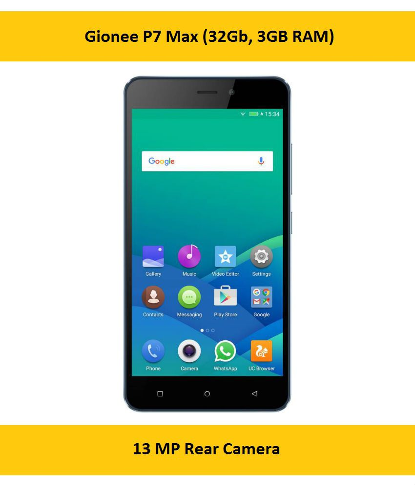 Gionee P7 Max  32 GB, 3 GB RAM
