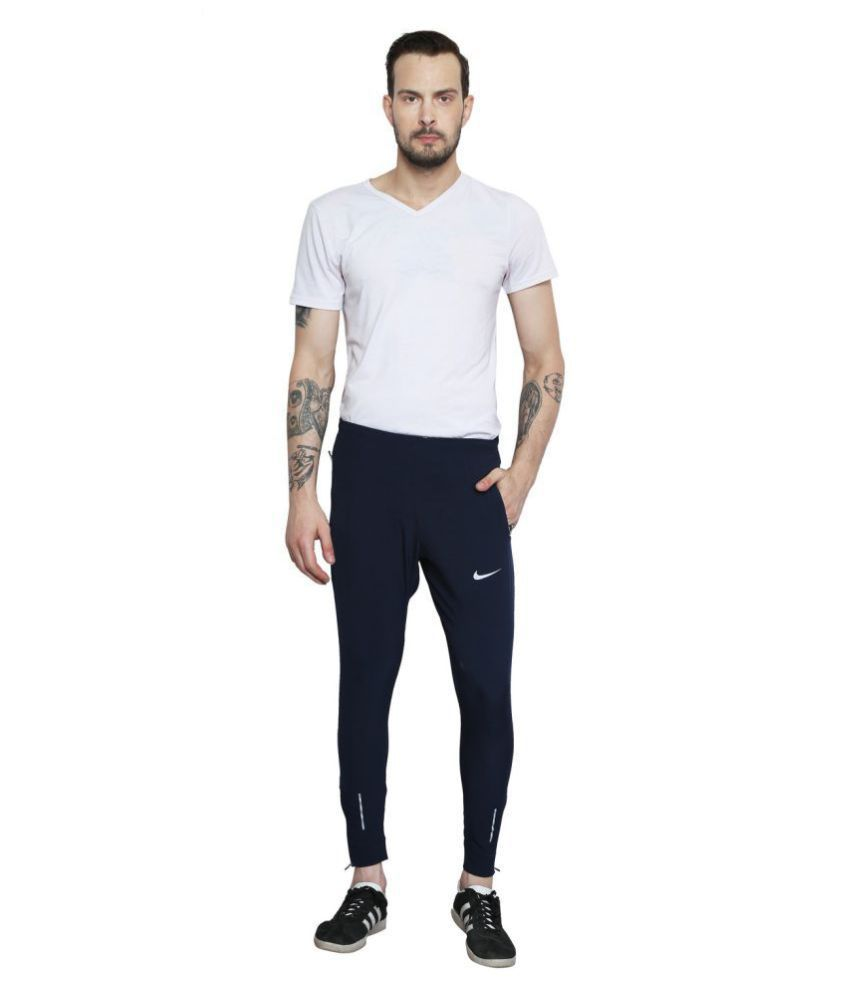 b326dcdf41a92 NIKE As Dry Phnm Navy Running Track Pants - Buy NIKE As Dry Phnm Navy  Running Track Pants Online at Low Price in India - Snapdeal